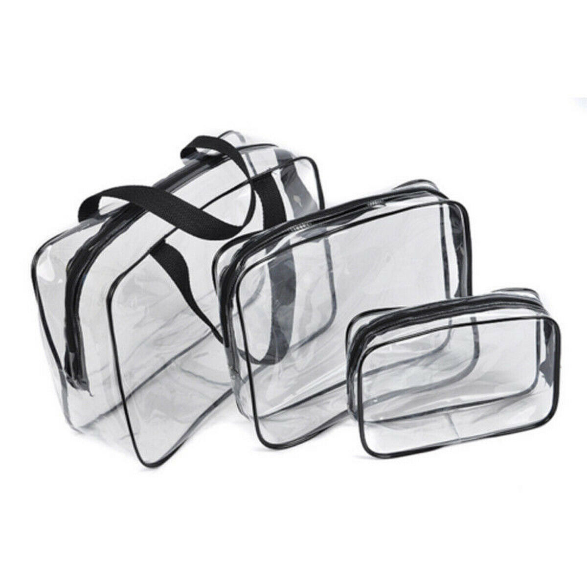 family Household 3PCS Travel Cosmetic Makeup Bag Toiletry Case Hanging Wash Organizer portable Storage Bags in Cosmetic Bags Cases from Luggage Bags