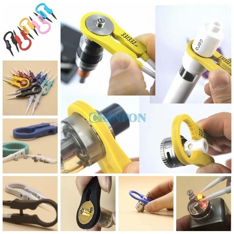 DHL 100PCS Multifunction Zirconia Ceramic Snap Ring Tweezer DIY Tool Cheaper & Better