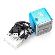 Мини-динамик с радио беспроводной портативный микро USB стерео динамик s Ubwoofer Колонка супер бас FM радио Receiver-5