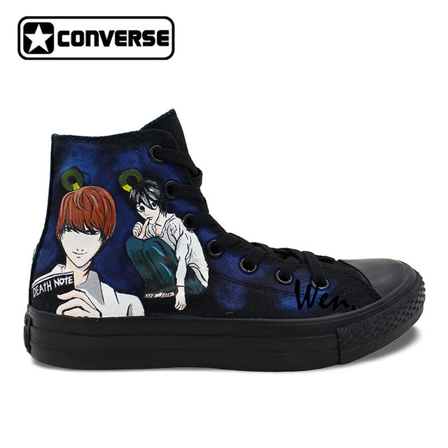 Death Note Custom Design Shoes  Converse All Star