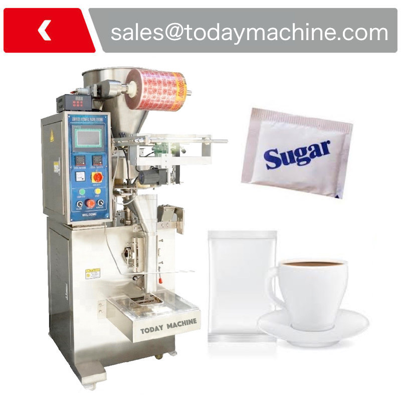 milk coffee sachet vertical tea bag powder pouch automatic packing machine price for small