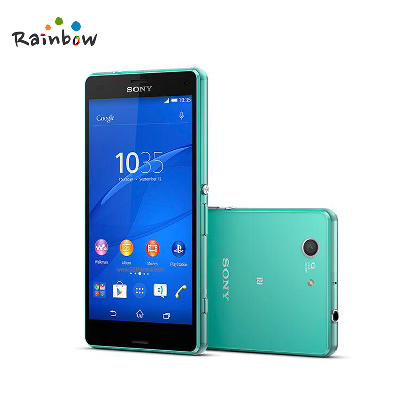 D'origine Sony Xperia Z3 Compact GSM 4g LTE Android Téléphone portable Quad-Core 2 gb RAM 16 gb ROM 4.6 WIFI GPS 2600 mah Batterie