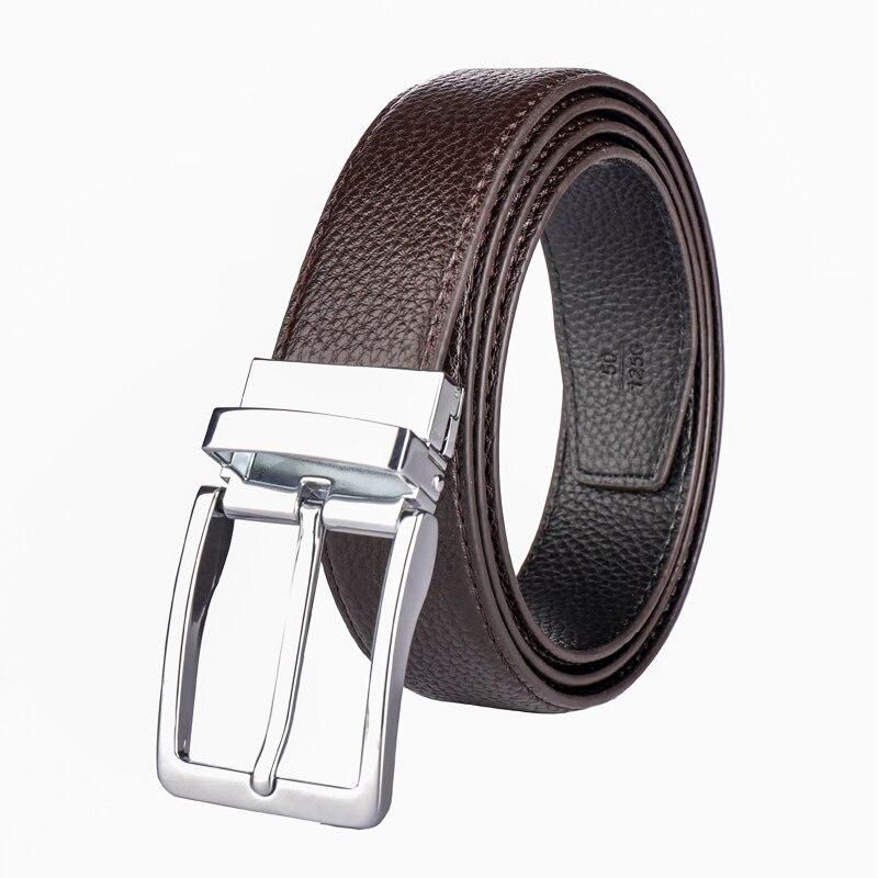 Achat Peau de vache véritable ceintures en cuir pour hommes marque Sangle mâle  boucle ardillon vintage jeans Tournant boucle ceinture 100 130 cm femme ... eb89e078af6