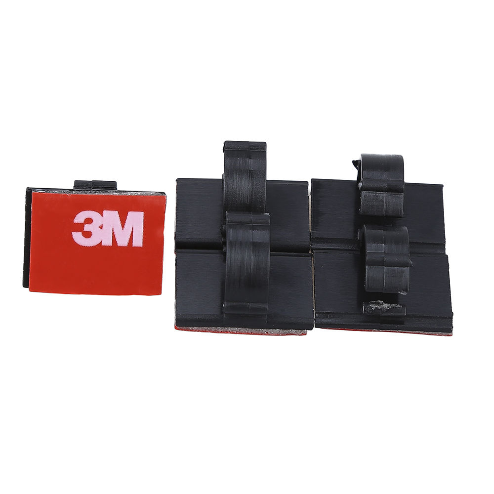 Universal Car Dash Camera 3M tape Adhesive Cable Clips Clamps Drop ...