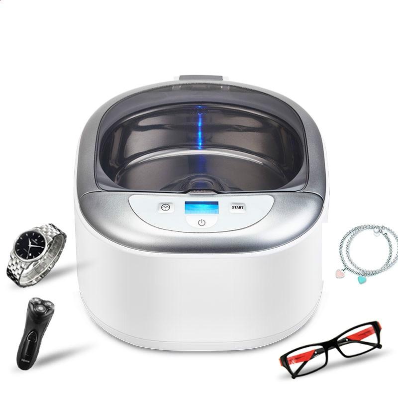 все цены на 220-240V SU-738 ultrasonic cleaning machine Household Glass washing machine Contact lens washing machine Jewelry watch Washer
