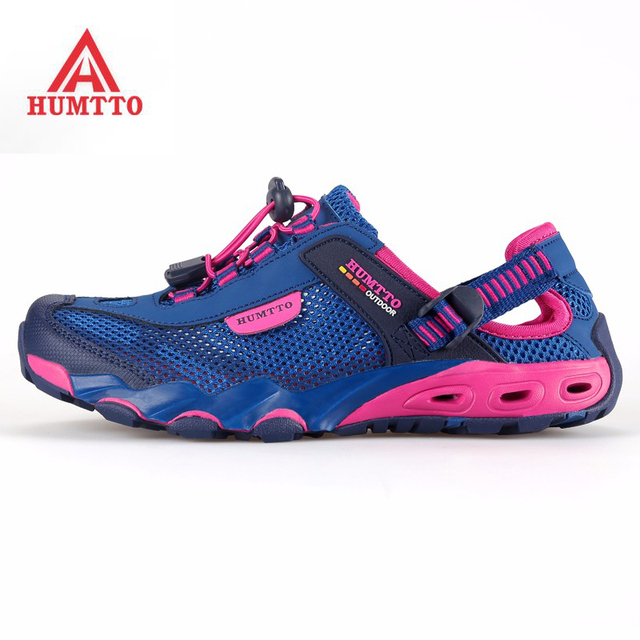 best website 3230a 9d808 US $98.9 |Humtto Sport Delle Donne di Estate Outdoor Escursioni Trekking  Aqua Scarpe Sandali Scarpe Da Ginnastica Per Le Donne Sport Arrampicata ...