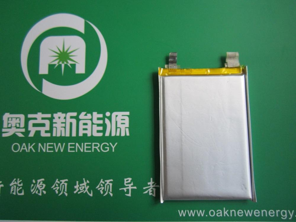 2Pcs Existing stocks lithium polymer battery , A grade polymer batteries 785251 , capacity 2200mAh