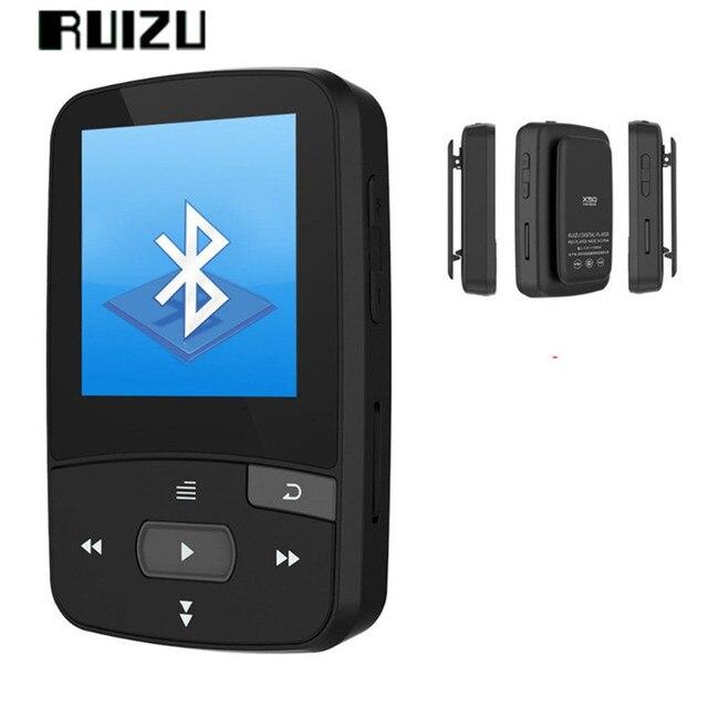 Ruizu X50 8 ГБ спорт mp3 мини-клип Bluetooth MP3-плееры спортивные Бег музыки MP3 плеер с fm Радио/record /E-Book PK X06 X26
