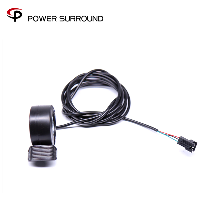 Promotion New Right & Left Thumb Throttle For Electric Bicycle hub Motor wheel Kit Ebike Sets