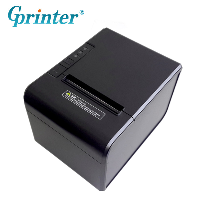 GP-U80300V 300mm/s High Speed Printer USB Serial Parallel Ethernet Thermal Printer For Kitchen Hotel Bank Tax Logistics Warehous