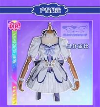 love live sunshine Theatre Version Brightest Kurosawa Ruby Dress All Members Dress Melody White Blue Cosplay Costume love live sunshine kurosawa ruby spm figure little demon ee5