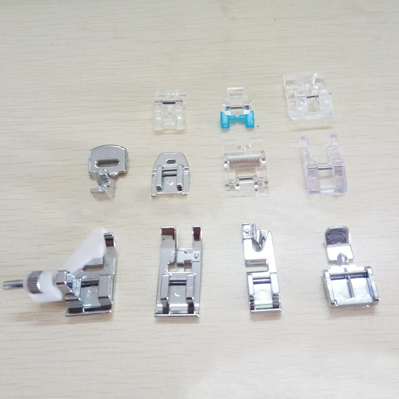 11pcs set Different Features Sewing Machine Foot Combination 505A Dedicated Sewing Feet Suit for Home Sewing Machine Accessories in Sewing Machines from Home Garden