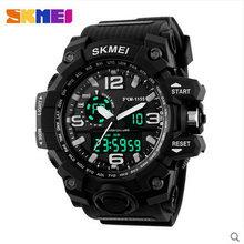 Самые дешевые цифровые спортивные часы человек цифровой спортивные шок водонепроницаемый skmei 1155