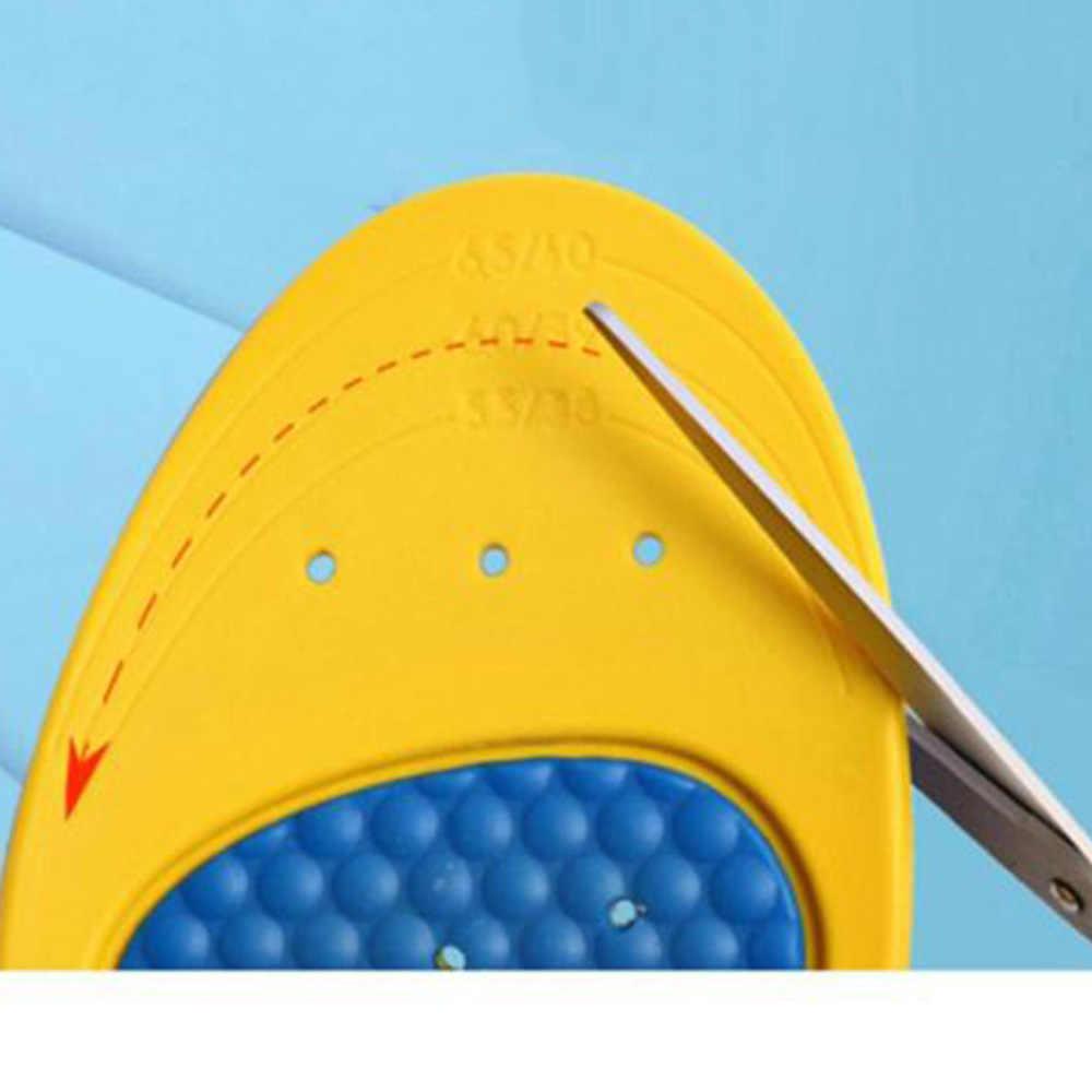 1 paar Platvoeten Orthopedische Inlegzolen Verstelbare Cut Voetverzorging Sport Inlegzolen Schokabsorptie Pads Voor Vrouwen Mannen