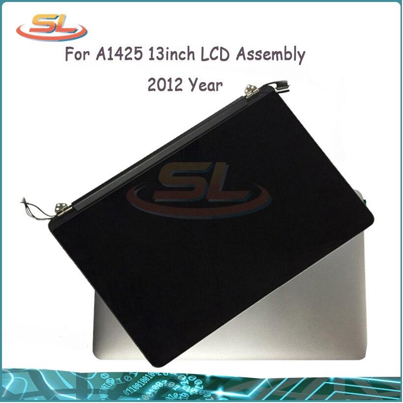 Original 2012 année 98% nouveau A1425 LCD écran assemblage pour Macbook Pro 13 ''rétine plein A1425 LCD écran EMC2557 avec peau de Film