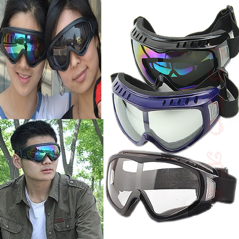 Protection Airsoft Goggles Tactical Paintball Clear Glasses Wind Dust Motorcycle