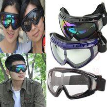 f32208fde5 Protección Airsoft gafas tácticas Paintball gafas transparentes viento  polvo motocicleta(China)