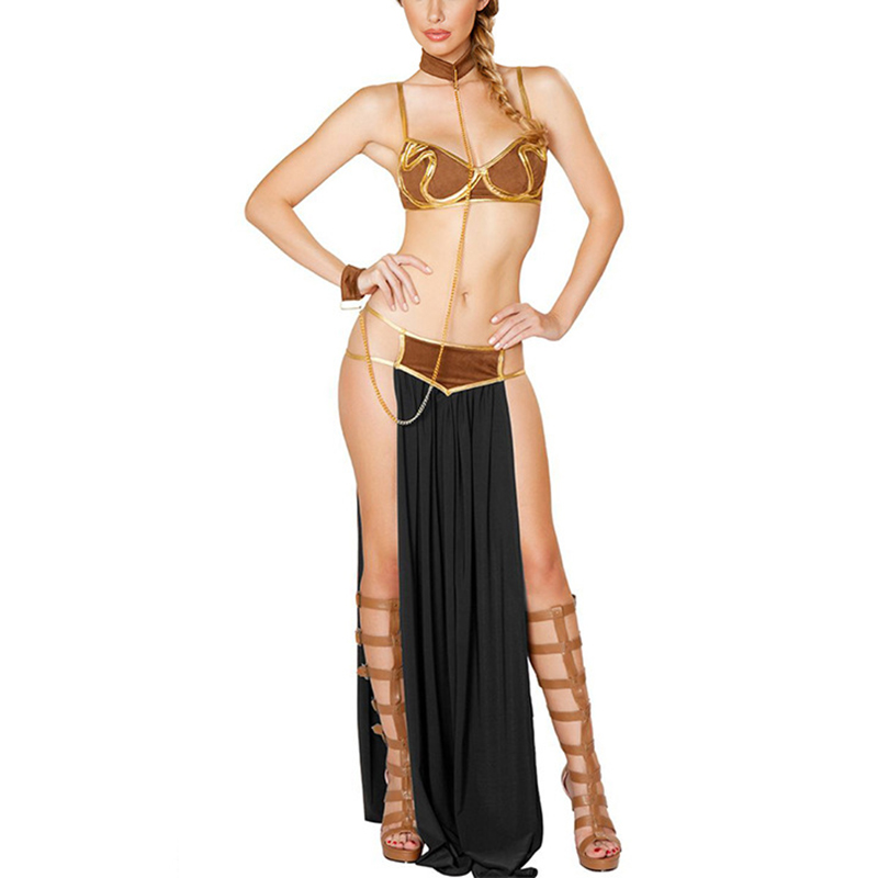 VASHE JIANG Adult Sexy Egyptian Goddess Costume for Women Renaissance Medieval Arab Princess Halloween Carnival Costumes