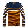 TOP Christmas Tace& Shark new 2017 Brand Clothing long sleeve 100 cotton Sweater pullover mens striped sweaters shark plus XXXL