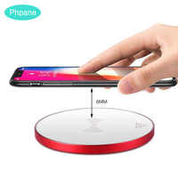 Ultra Slim Travel Portable Wireless Charger For Xiaomi Mi9 Mix Samsung Galaxy S9 S8 Plus Note 8 9 Qi Induction Charging chargeur