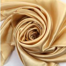Tela de seda 100%, seda Mulberry, Color sólido, Multicolor, ancho, 114cm, seda teñida lisa, envío gratis
