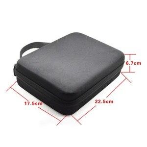 Image 5 - Taşınabilir su geçirmez kamera saklama çantası kutusu için orta boy Gopro Hero Xiaomi Yi SJCAM eylem kamera