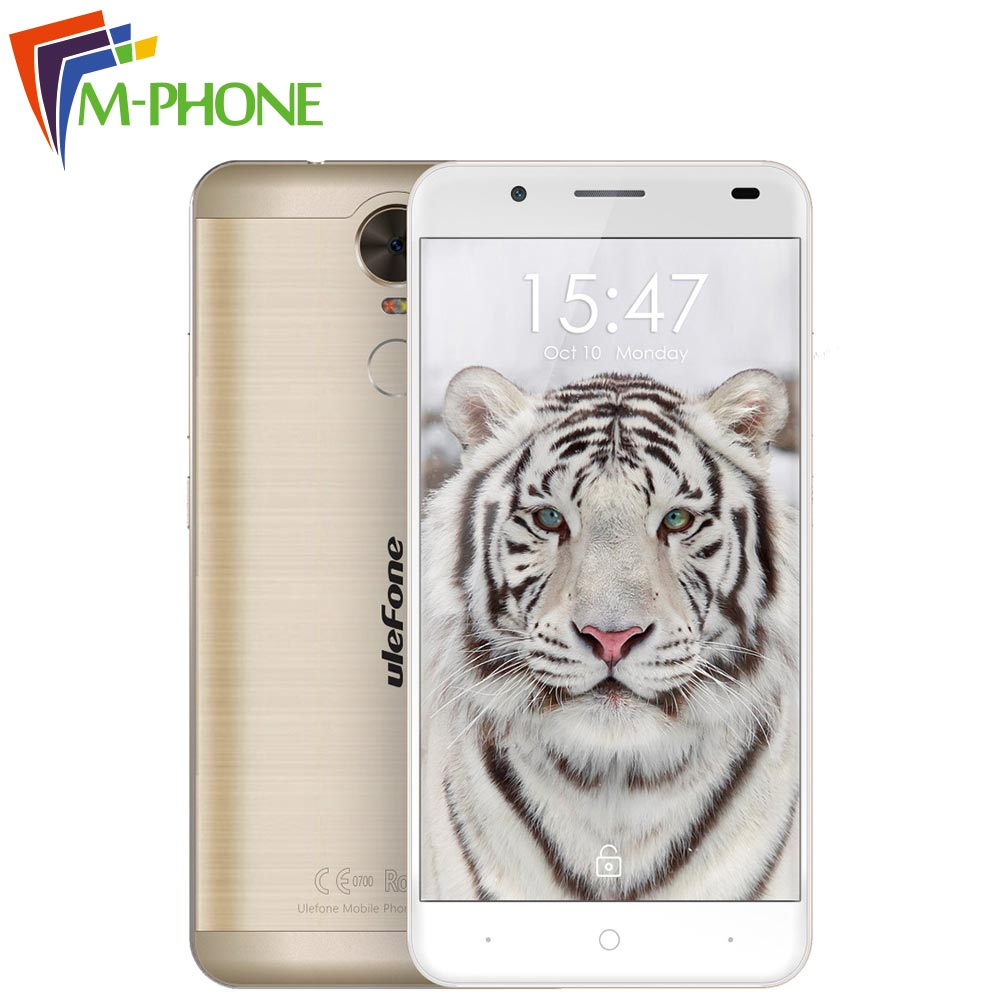 Ulefone Tiger Mobile Phone 5 5 inch 4G Android 6 0 MT6737 Quad Core 2G RAM
