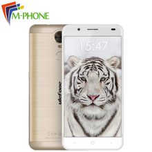 Ulefone Тигр мобильного телефона 5.5 дюймов 4 г Android 6.0 MT6737 Quad Core 2 г Оперативная память 16 г Встроенная память отпечатков пальцев смартфон с 4200 мАч Cellhone