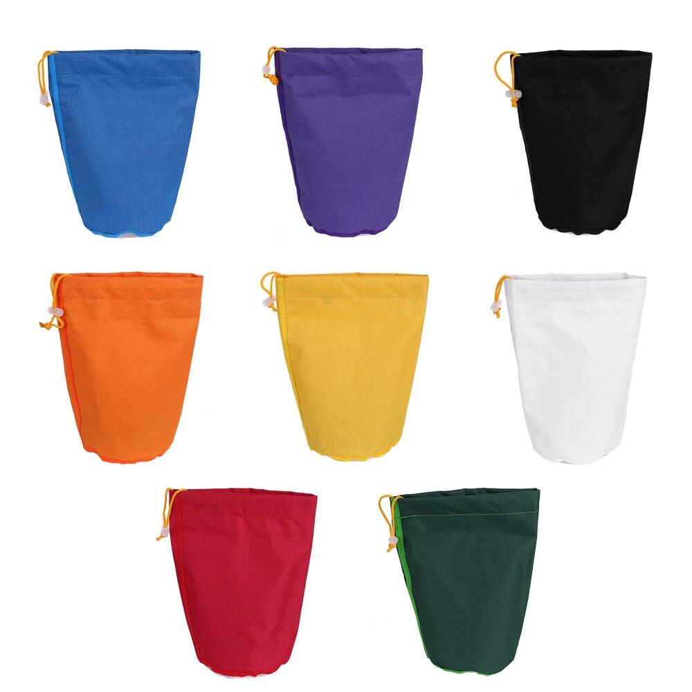 8pcs 1 Gallon Filter Bag Bubble Bag 1 Gallon Garden Grow Bag Herbal Ice Essence Extractor Extraction Bags with Pressing Screen