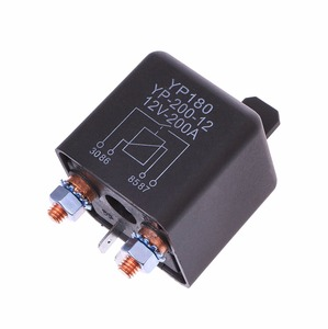 24V/12V DC 200A High Power Car Relay Truck Motor Continuous Type Automotive Switch(China)