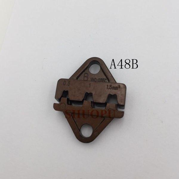 ein Satz A48b Sterben Sets Für Sn-48b Mini Europ Style Crimpzange Crimpzange 0,5-1.5mm2 Verkaufsrabatt 50-70%