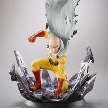 10-25 centimetri Anime ONE PUNCH UOMO Saitama Originale Statua PVC Action figure giocattoli di Modello doll collection regalo Di Natale figma