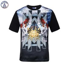2017 Mr.1991INC Summer tops for males shiny rayon printed golden flowers 3d t-shirt palace non secular slim fashion tee shirts 10 mod