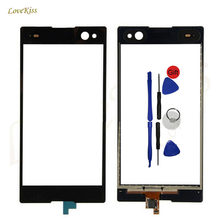 "Touch Screen Digitizer Panel For Sony Xperia C3 D2533 D2502 5.5"" Touchscreen Sensor Front Outer Glass Phone Replacement + Tools(China)"