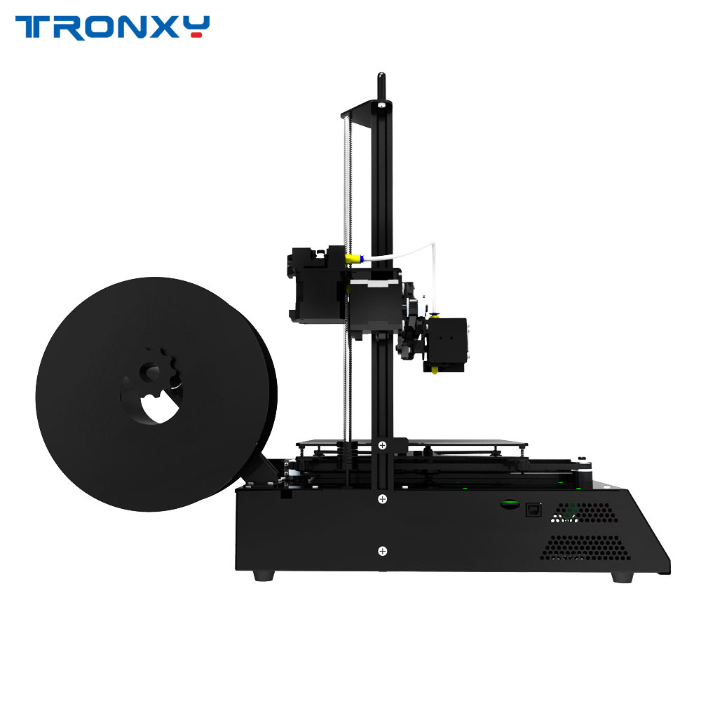 Tronxy X2 3D Printer diy Kit Full Metal Frame Large Printing Size 220 220 220mm with hot bed use ABS PLA Filament Fast assemble in 3D Printers from Computer Office