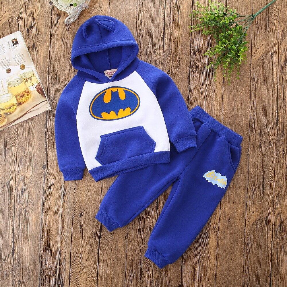 Autumn Halloween Cartoon Costume Little Boy Girl Outfits Unisex Toddler Hoodie Sweatshirt Top Long Pants Children Clothes Set