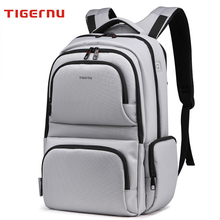 17 Inch School Bags for Teenager Boys Girls School Backpacks High Quality Dropproof Nylon Tigernu Brand Men Business Backpack