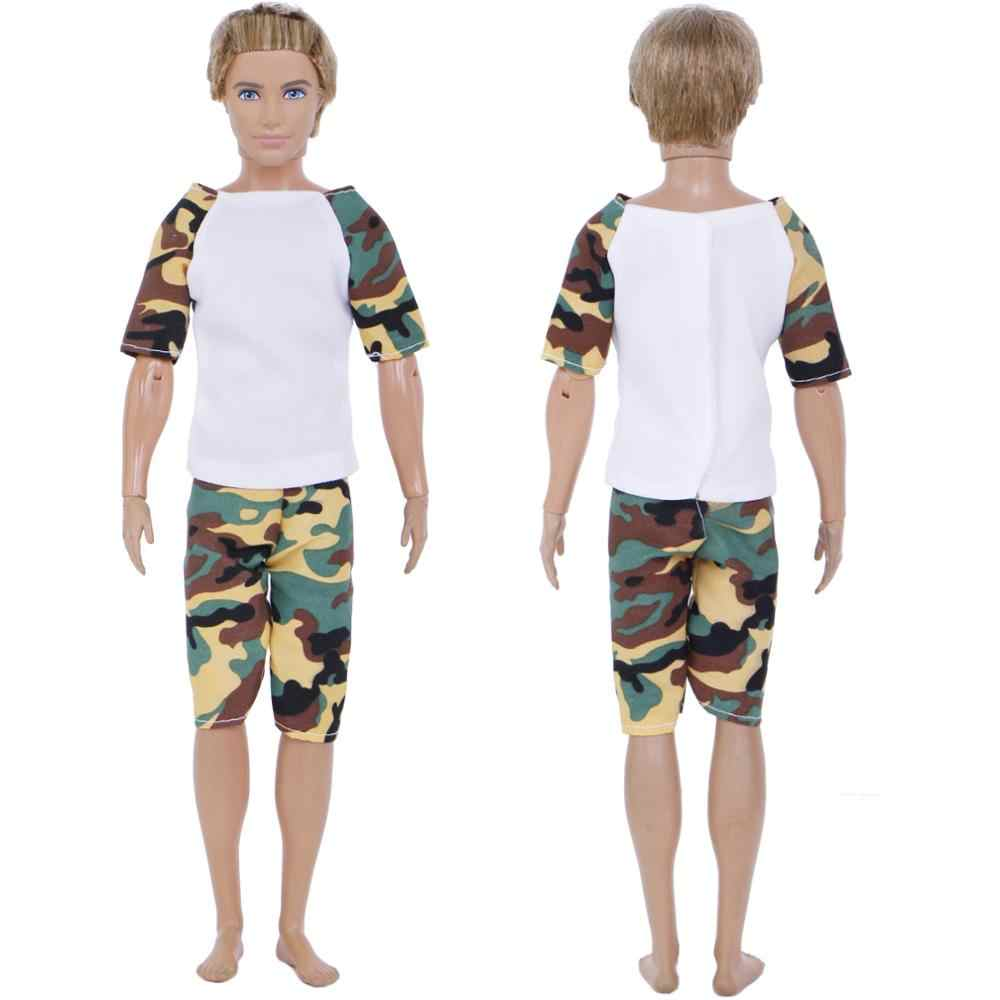 772139353a2f ... 10 Pcs   5 Sets Outfits T-Shirt + Shorts Cool Summer Sports Daily Wear  ...
