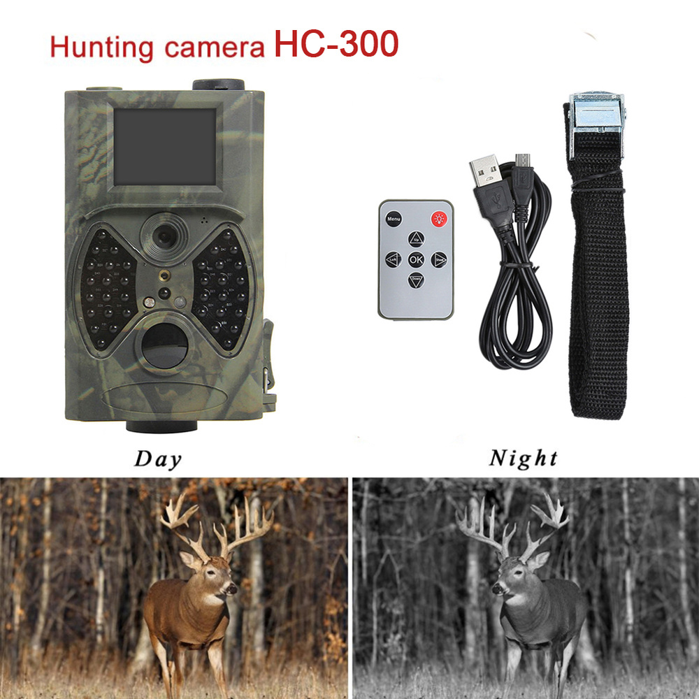 Skatolly HC300A Infrared Hunting Trail Camera 1080P Night Vision Wild Cameras Hunter Scouts Photo Traps Chasse