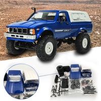 WPL C24 2.4G DIY RC Car Radio Remote Control Car Off Road 4WD RC Model Jeep RC Crawler Truck Body Kit Electric Toys For Boy Kids