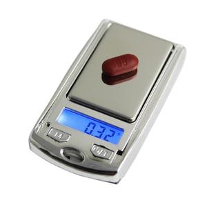 Image 3 - Draagbare Mini Digitale Pocket Schalen 200G/100G 0.01G Voor Goud Sterling Sieraden Gram Balance Gewicht Elektronische weegschalen