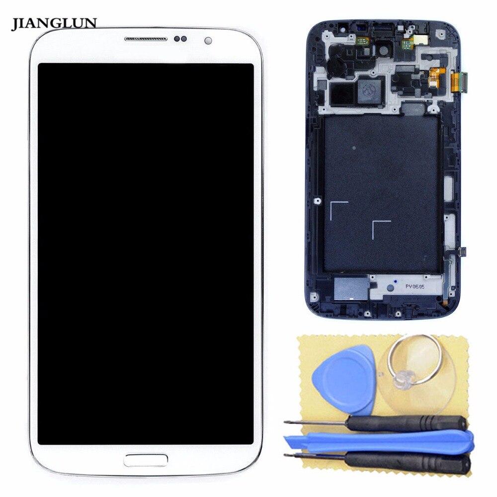 JIANGLUN  LCD Display Touch Screen Glass Lens+Frame for Samsung Galaxy i9200JIANGLUN  LCD Display Touch Screen Glass Lens+Frame for Samsung Galaxy i9200