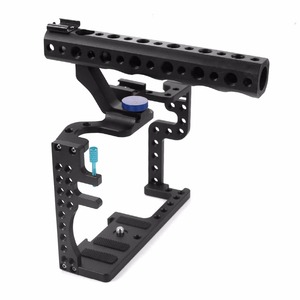 Image 3 - for Professional Panasonic GH3 GH4 Protective Housing Case Handle Grip Rugged Cage Combo Set for DSLR Rig Digital Camera