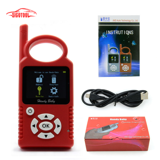 Original Handy Baby Hand-held V8.0 Car Key Copy Auto Key Programmer for 4D/46/48 Chips Plus G Chip Copy Function Authorization