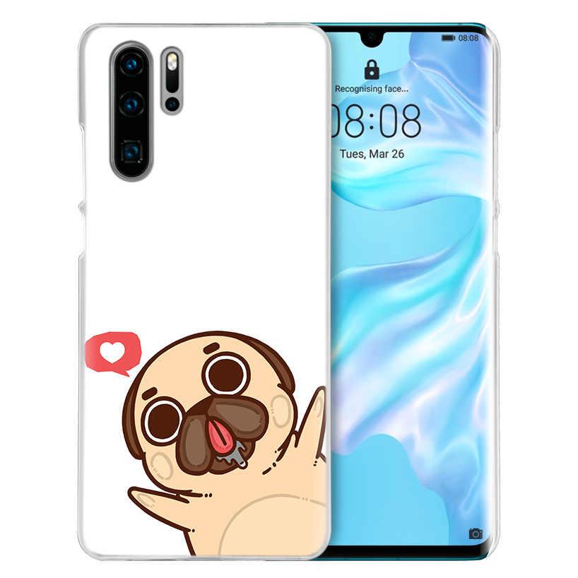 Pugs Não Drogas Cães Case for Huawei P20 P30 P Inteligente 2019 Nova 4 3i P10 P9 P8 Companheiro 10 20 lite Pro Mini 2017 Capa Dura Telefone PC