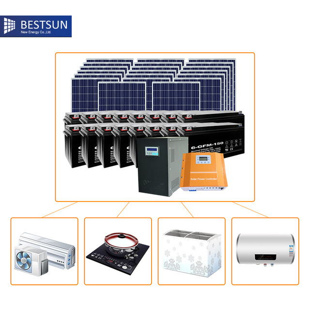 bfs 5000w hb free solar home system in solar power energy systems