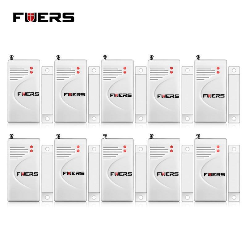 bilder für Fuers 10 stücke Drahtlose Alarmanlage Magnetsensoren Intelligente Überwachung Locator Für Schublade Tür Fenster sensor-detektor