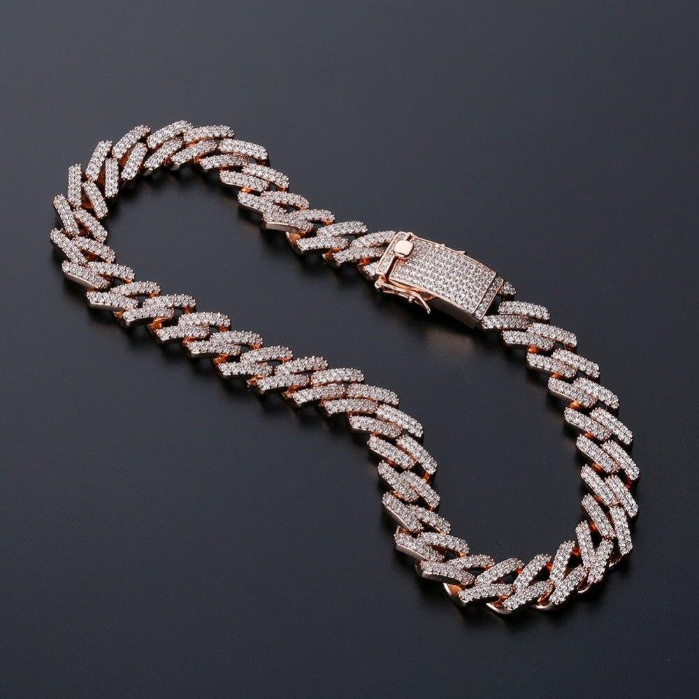 925 Silber Herren Damen Männer Schmuck Halskette Männer Kette 4 MM Hip Hop Biker