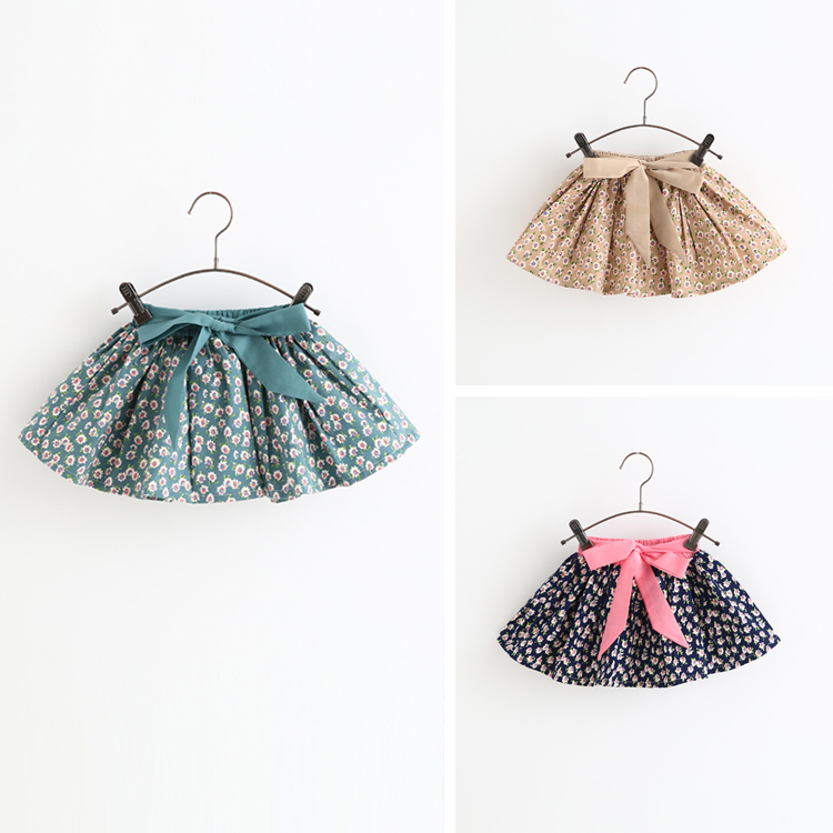 Free shipping,summer and spring,Hot sale clothes child skirts,girl skirts,baby skirts,bowknot,flowers,lovely,skirts,kid wear