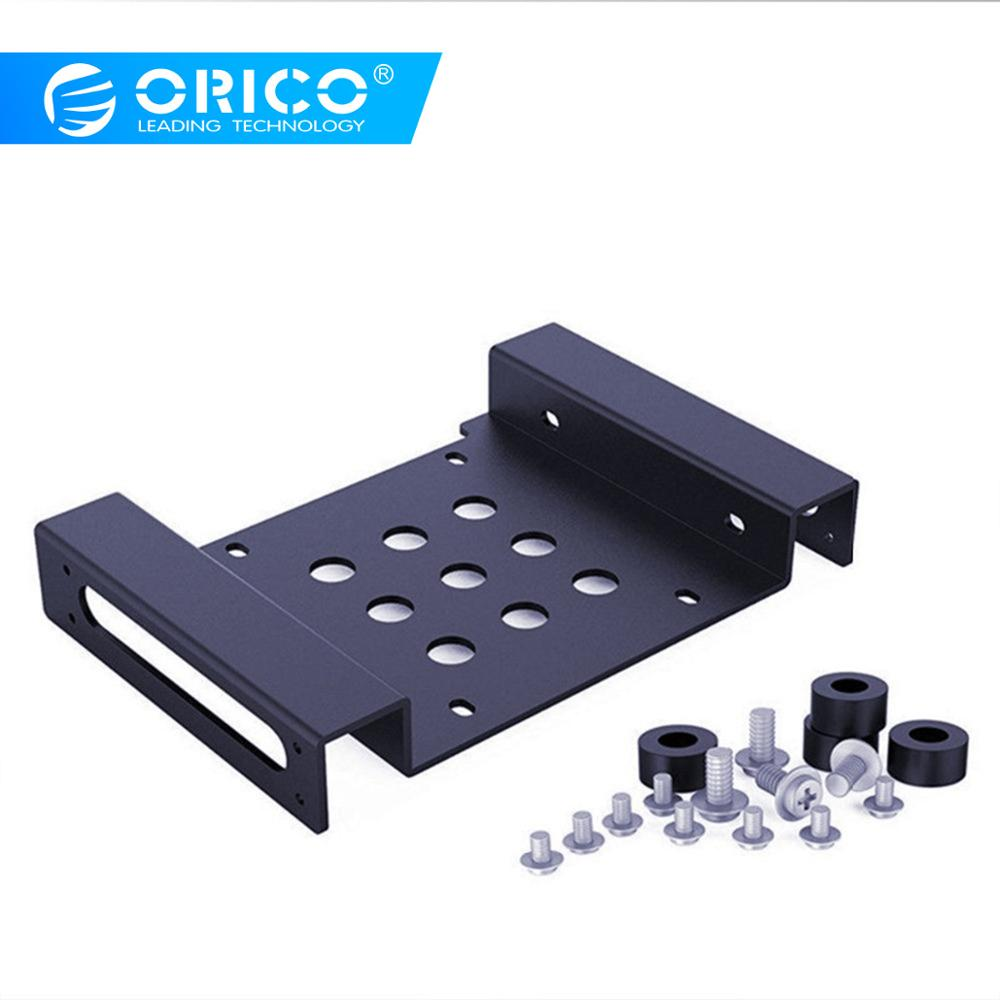 ORICO AC52535-1S 5.25-Inch Drive Bay To 3.5-Inch Hard Drive Rack SSD Solid Drive Aluminum Bracket